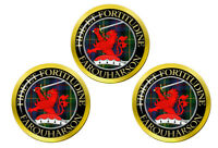 Farquharson Écossais Clan Marqueurs de Balles de Golf