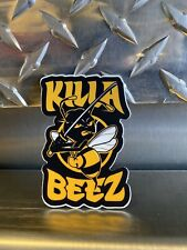 WU-TANG CLAN Sticker Black Yellow Killa Bees 3in decal wutang brand 36 chambers