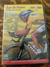 1999 Tour de France Dvd Set World Cycling Productions Limited Edition - New