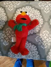 Small Elmo With Scarf Plush