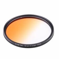 RISE(UK) 72mm Graduated Color Orange Filter For Canon Nikon 72mm lens thread