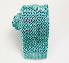 Charvet Square End Knit Silk Tie
