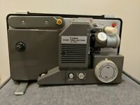 VINTAGE CANON S-400 SUPER 8 / 8MM VARIABLE SPEED MOVIE CINE PROJECTOR Tested