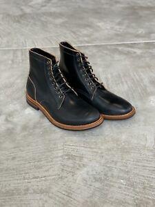 Iron Heart Denim x Oak Street Bootmakers Collab Horween Shell Cordovan Size 13