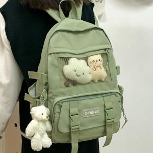 Fashion Backpack Cute Nylon Waterproof School Bag for Teenager Girls Kawaii new