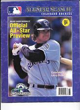 MLB Official All-Star Baseball Game Preview-Colorado Rockies All-Star program