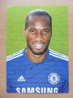 Chelsea Signed Official Club Cards 2010 - 2015 All Seasons - UPDATED