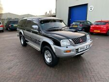 2001. MITSUBISHI L200 2.5TD 4LIFE 4WD PICK UP WITH TRUCKMAN TYPE TOP. I FORMER K