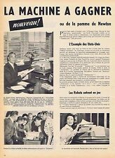PUBLICITE ADVERTISING 035 1957 THERMO-FAX photocopieur