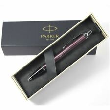Personalised Engraved Parker IM Light Purple Chrome Trim Ballpoint Pen
