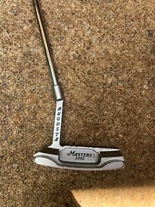 The Masters Collectors Edition Putter and head cover. 2002 edition. 660 of 750.