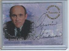 Inkworks Buffy Reflections Autograph card A3 Armin Shimerman as Principal Snyder
