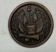 1863 Civil War Token Union 61 / Our Navy 337/358