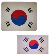 """Wholesale Combo South Korea Country 50""""x60"""" Fleece & 3'x5' Polyester Flag"""
