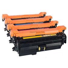 4x CE400A/X - CE403A Toner For HP Colour LaserJet Enterprise 500 Color M551 M575
