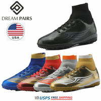 DREAM PAIRS Kids Soccer Shoes Toddler Boys Girls Athletic Football Shoes Cleats