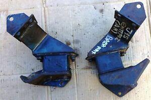 DATSUN NISSAN 520 620 P/U ENGINE J15 OHV FRONT ENGINE MOUNT & BRACKET SET USED
