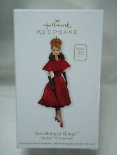 2011 Hallmark Keepsake Ornament Ravishing In Rouge Barbie