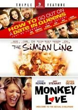 How to Go Out on a Date in Queens/The Simian Line/Monkey Love (DVD) - NEW!!