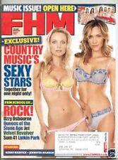 FHM Magazine March 2005 Country Music Women Motley Crue Kerry Harvick Jennifer