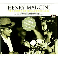 HENRY MANCINI 3 CD PETER GUNN/FOUR GIRLS IN TOWN/TOUCH OF EVIL/ROCK PRETTY BABY