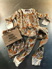 Toddler Milkbarn Rayon/Bamboo One Piece PJ's- Floral- Size: 2T- New With Tags