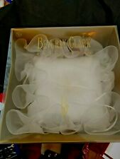 Wedding Ring Pillow Beverly Clark Collection, Ruffled with feathered tie