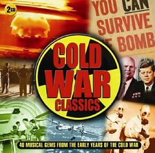 COLD WAR CLASSICS 40 SONGS FROM THE EARLY YEARS OF THE COLD WAR  2 CD NEU