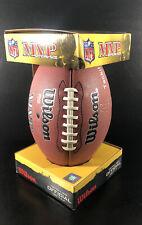 Wilson Nfl Mvp Football Official Tackified Wtf1415 Jev48 Tom Brady Box (Rare!)