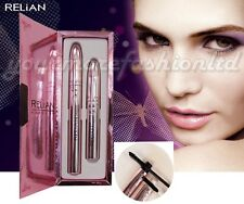 3D Mascara. RELiAN Mascara Set (Transplanting Gel + Natural Fiber) Waterproof