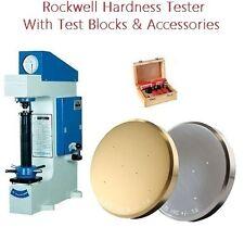 Rockwell Type Hardness Tester Hardness Tester New In Box Test Block C B