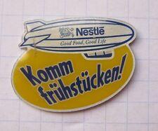 NESTLE / KOMM FRÜHSTÜCKEN / ZEPPELIN ............ Ballon Pin (108k)