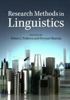 Research Methods in Linguistics, Paperback by Podesva, Robert J. (EDT); Sharm...