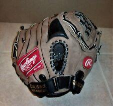 "New listing Rawlings 13 1/2"" Baseball Softball Glove Mitt SE135 Basket Web  LEFT"
