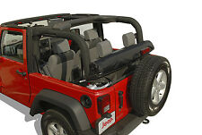 CLOVER PATCH WINDOW ROLL - JEEP WINDOW STORAGE 2 DR. JK