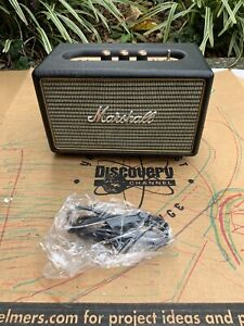 Marshall Kilburn Battery powered Bluetooth Speaker Black