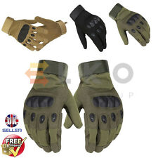 Tactical Full Finger Military Outdoor Sports Hunting Riding Paint-Balling Gloves
