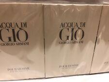 LOT OF 36 - Giorgio Armani - Acqua Di Gio Pour Homme EDT 0.04 oz Spray Vials