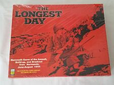 The Longest Day Avalon Hill 1979, Strategic Board Game, WWII, Sealed