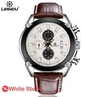 Men's Business Luxury Date Quartz Casual Chronograph Wrist Watches