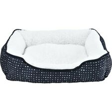Perfect Pet Bolstered Rectangular Soft Lined Pet Bed - Large