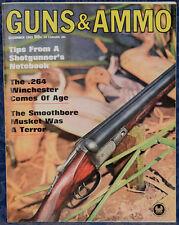 Vintage Magazine GUNS & AMMO December, 1963 !!! SINGLE-SHOT UNDERHAMMERS !!!