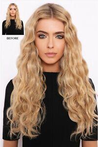 Extensions cheveux  Ondulé Wavy blond 55 Cm 220g
