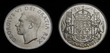 Canada 1952 King George VI Silver Fifty 50 Cent Piece MS-63