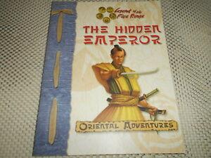 Oriental Adventures. Legend of the Five Rings: The Hidden Emperor