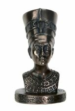 Ancient Egyptian Queen Nefertiti Small Bust Statue Figurine Egypt Decoration New