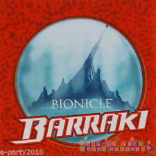 LEGO BIONICLE BARRAKI LUNCH NAPKINS (16) ~ Birthday Party Supplies Dinner Red