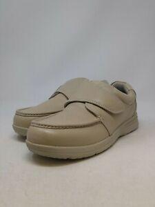Nunn Bush Men's Cream Strap Loafer Size 9 X-Wide US