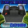 BATTERY SYSTEM BOX 12V 12 VOLT SUIT AGM DEEP CYCLE DUAL BATTERIES CARAVAN 4x4