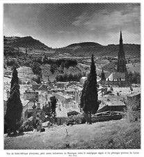 *** Vue de Saint-Affrique (Aveyron) *** 1934 - photo (22 x 24) // p270